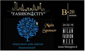 """Osservatorio sulla Violenza, partner dell'evento """"Fashion in the city"""""""